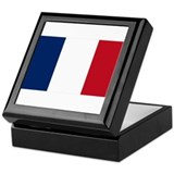French Flag Keepsake Box
