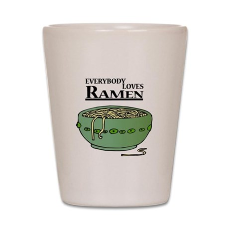 Everybody Loves Ramen (noodle Shot Glass