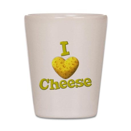 I love Cheese Shot Glass