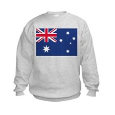 Australian Flag Kids Sweatshirt