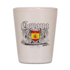 Spain world cup champions Shot Glass
