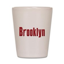 Brooklyn, New York Shot Glass
