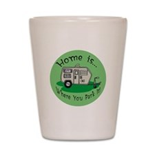 Trailer Park Home Shot Glass