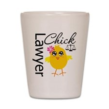 Lawyer Chick Shot Glass