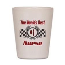 Racing Nurse Shot Glass