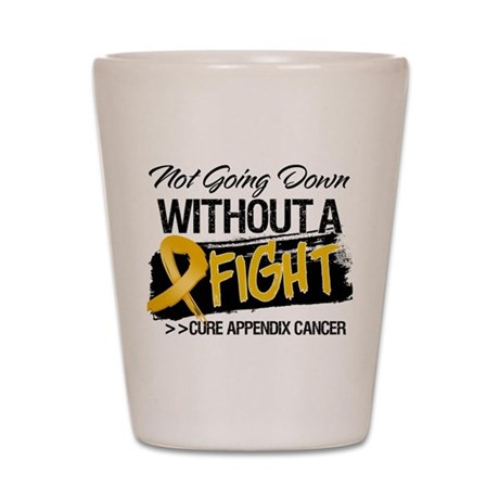 Appendix Cancer Fight Shot Glass