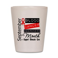 Blood Cancer Month v3 Shot Glass