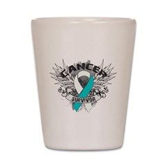 Survivor - Cervical Cancer Shot Glass