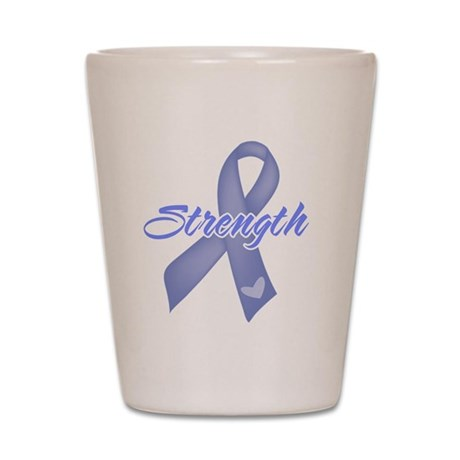 Strength Esophageal Cancer Shot Glass