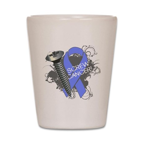 Screw Esophageal Cancer Shot Glass