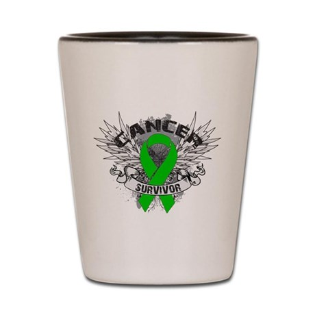 Grunge Survivor Bile Duct Can Shot Glass