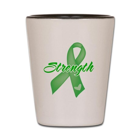 Strength - Bile Duct Cancer Shot Glass