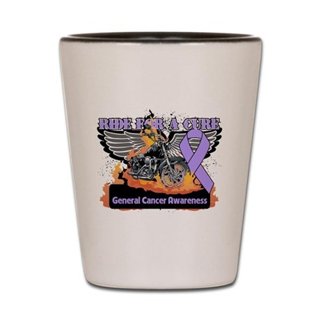 Ride For a Cure Cancer Awaren Shot Glass
