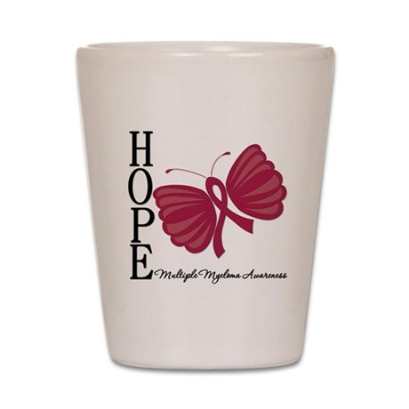 Hope Butterfly - Myeloma Shot Glass