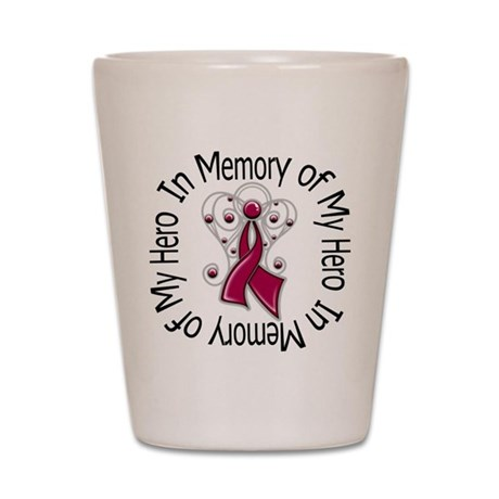 Myeloma In Memory Hero Shot Glass