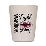 Fight Strong Myeloma Warrior Shot Glass