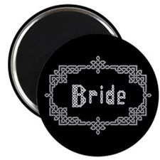 """Celtic Knots Bride"" 2.25"" Magnet (10 pack)"