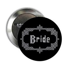 """Celtic Knots Bride"" 2.25"" Button (100 pack)"