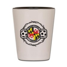 Maryland Soccer Shot Glass