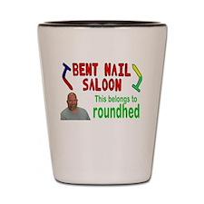 Bent Nail Shot Glass