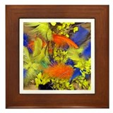 Easter Feathers Framed Tile
