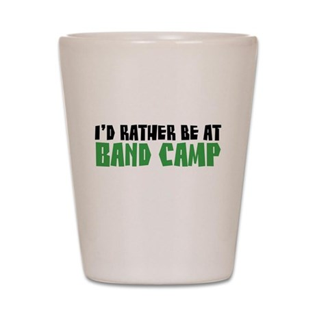 Band Camp Shot Glass