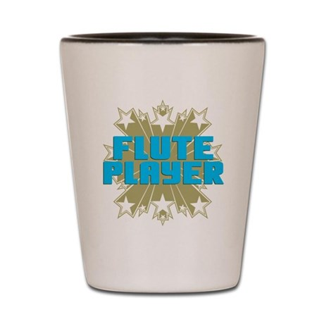 Star Flute Player Shot Glass