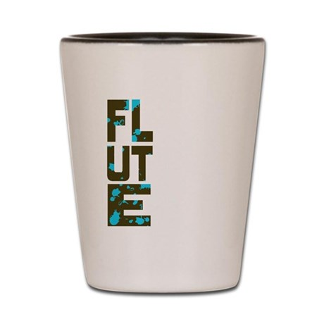 Asymmetrical Flute Shot Glass