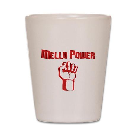 Mello Power Shot Glass