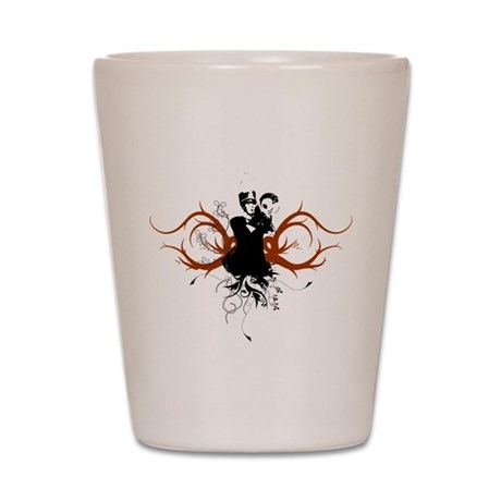 Marching Mellophone Shot Glass