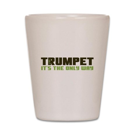 Trumpet Shot Glass