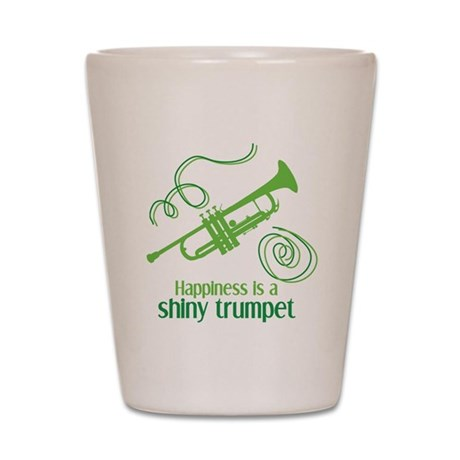 Shiny Trumpet Shot Glass