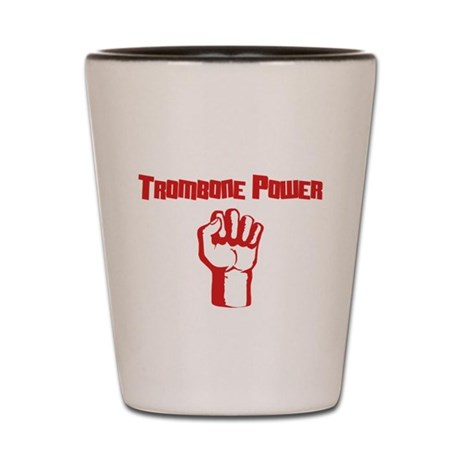 Trombone Power Shot Glass