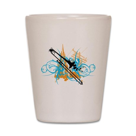 Urban Trombone Shot Glass