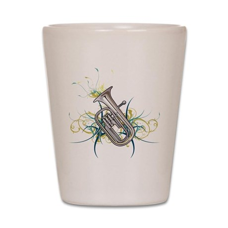 Confetti Baritone Shot Glass