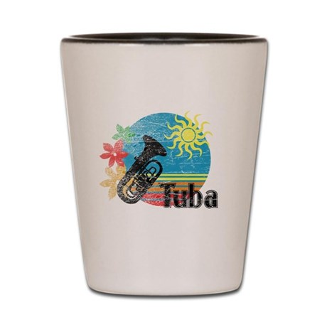 Hawaiian Tuba Shot Glass