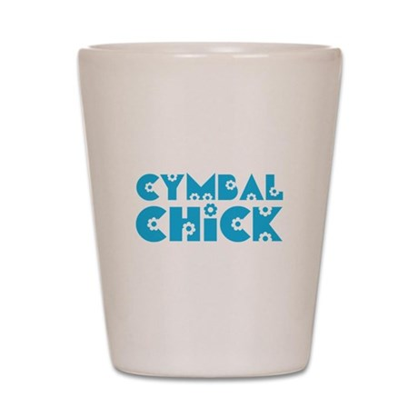 Baritone Chick Shot Glass