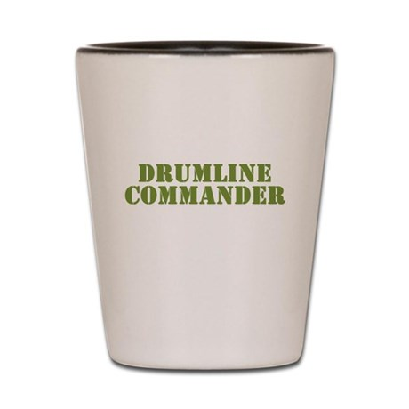 Drumline Commander Shot Glass