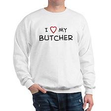 I Love Butcher Sweatshirt