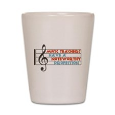 Music Teacher Shot Glass
