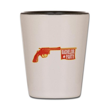 Joke Bachelor Gun Shot Glass