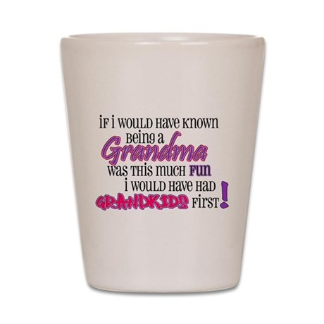 *new* Grandma Shot Glass