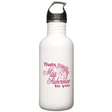 Miss Fisherman Water Bottle