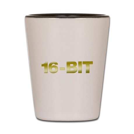 16-Bit Shot Glass