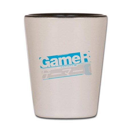 Gamer Katakana Shot Glass