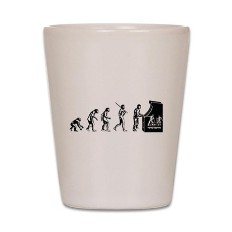 Gamer Evolution Shot Glass