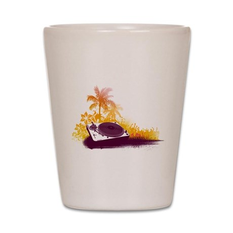 Turntable Beach Shot Glass