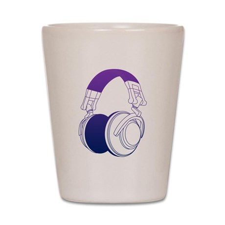 DJ Headphones 2 Shot Glass