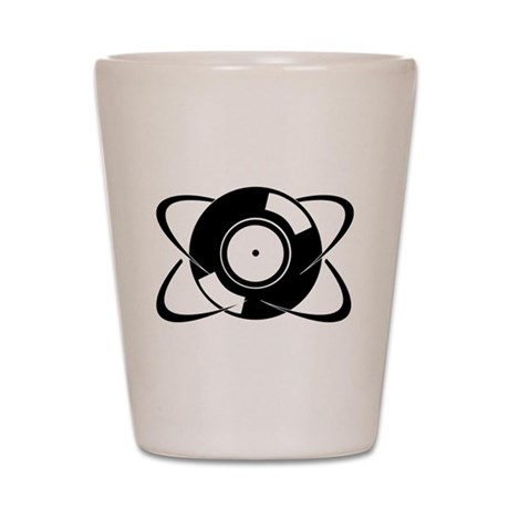 Record Atom Shot Glass