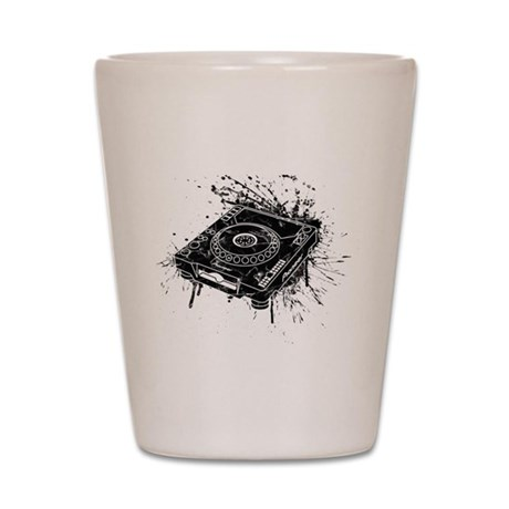 CDJ-1000 Graffiti Shot Glass